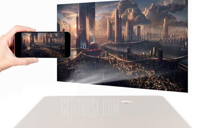 Digital Pocket Projector for Mobile Phone