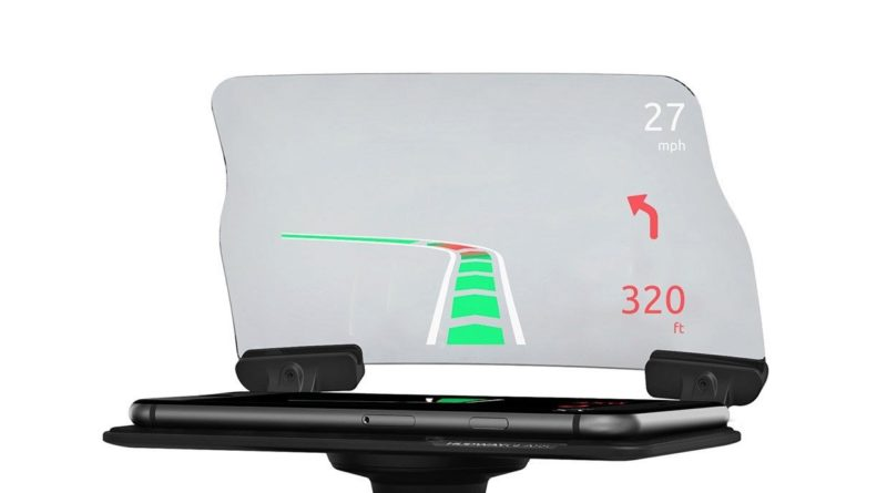 HUDWAY Glass V2.0 – Universal Head-Up Display (HUD) for any car. FREE apps included.