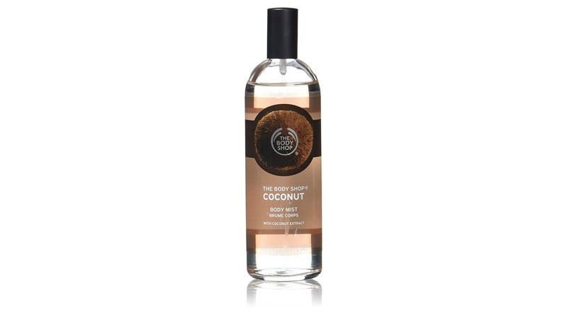 The Body Shop Coconut Body Mist, Paraben-Free Body Spray, 3.3 Fl. Oz.